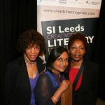 With Margaret Busby and Bonnie Greer.